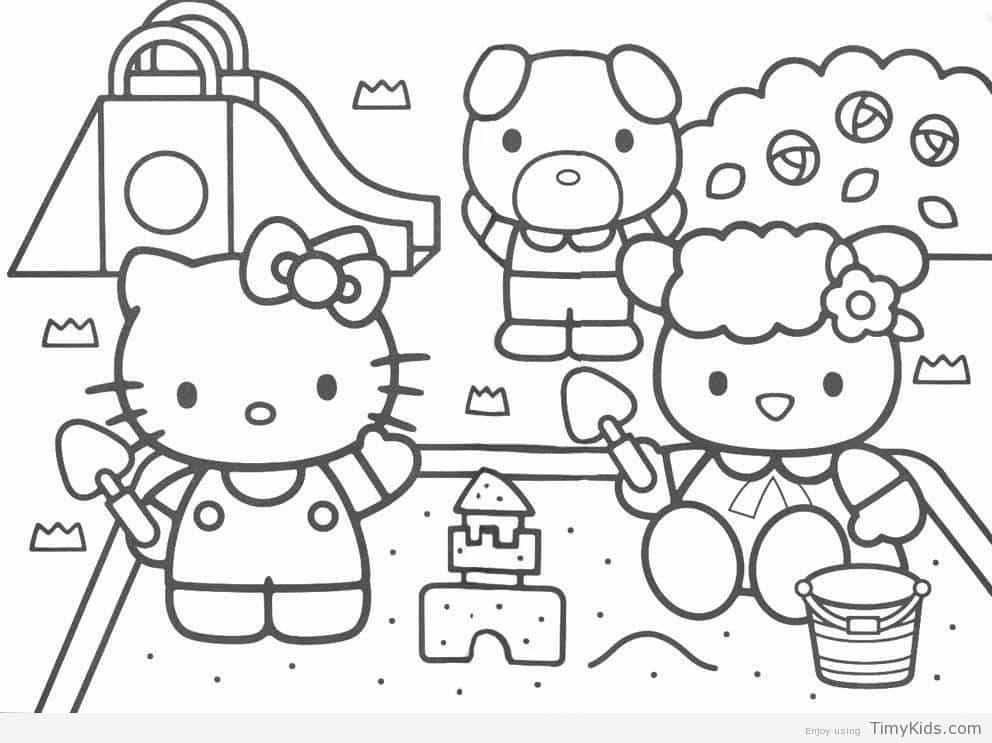 http://timykids.com/baby-hello-kitty-coloring-pages.html | Colorings ...