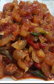 Resep Dan Bahan Bahan Yang Dibutuhkan Untuk Membuat Sambal Kikil Resep Masakan Resep Makanan Resep