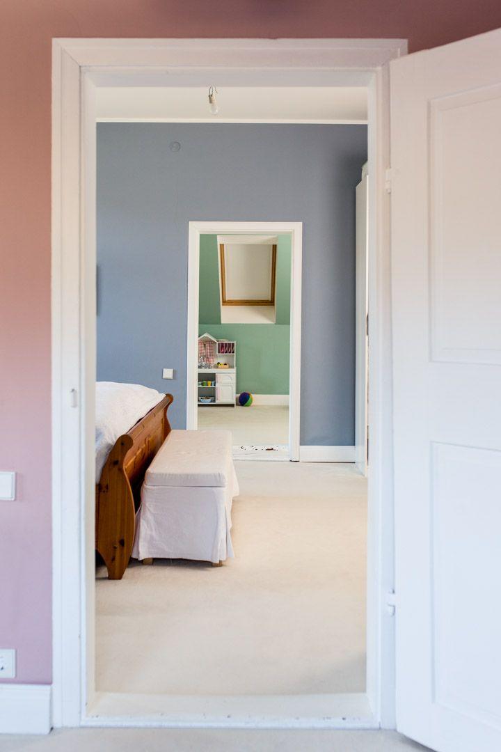 Tricolore :)! Wunderschöne Kombination aus einem Zimmer in Rosa (Bridget Jones no. 149), Blau und Türkis!