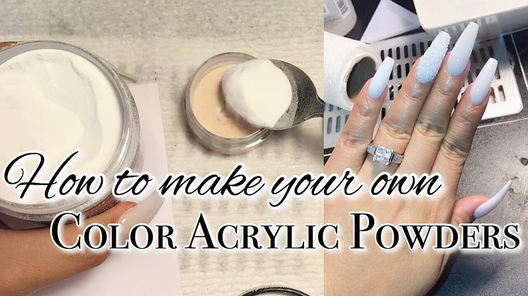 Color Acrylic Powders Acrylic Nail Powder Acrylic Powder Acrylic Nails