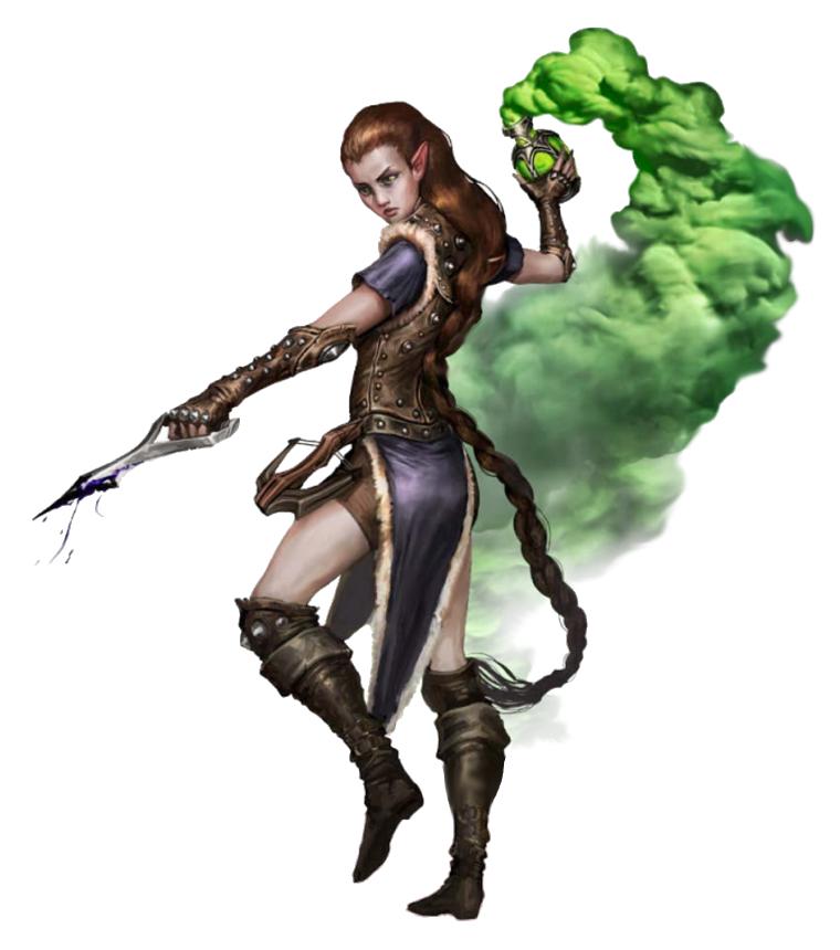 female half elf alchemist pathfinder pfrpg dnd d d d20 fantasy