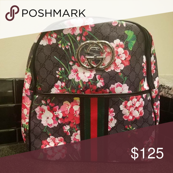 Gucci Backpack Gucci Inspired Backpack purse. Gucci Bags Backpacks