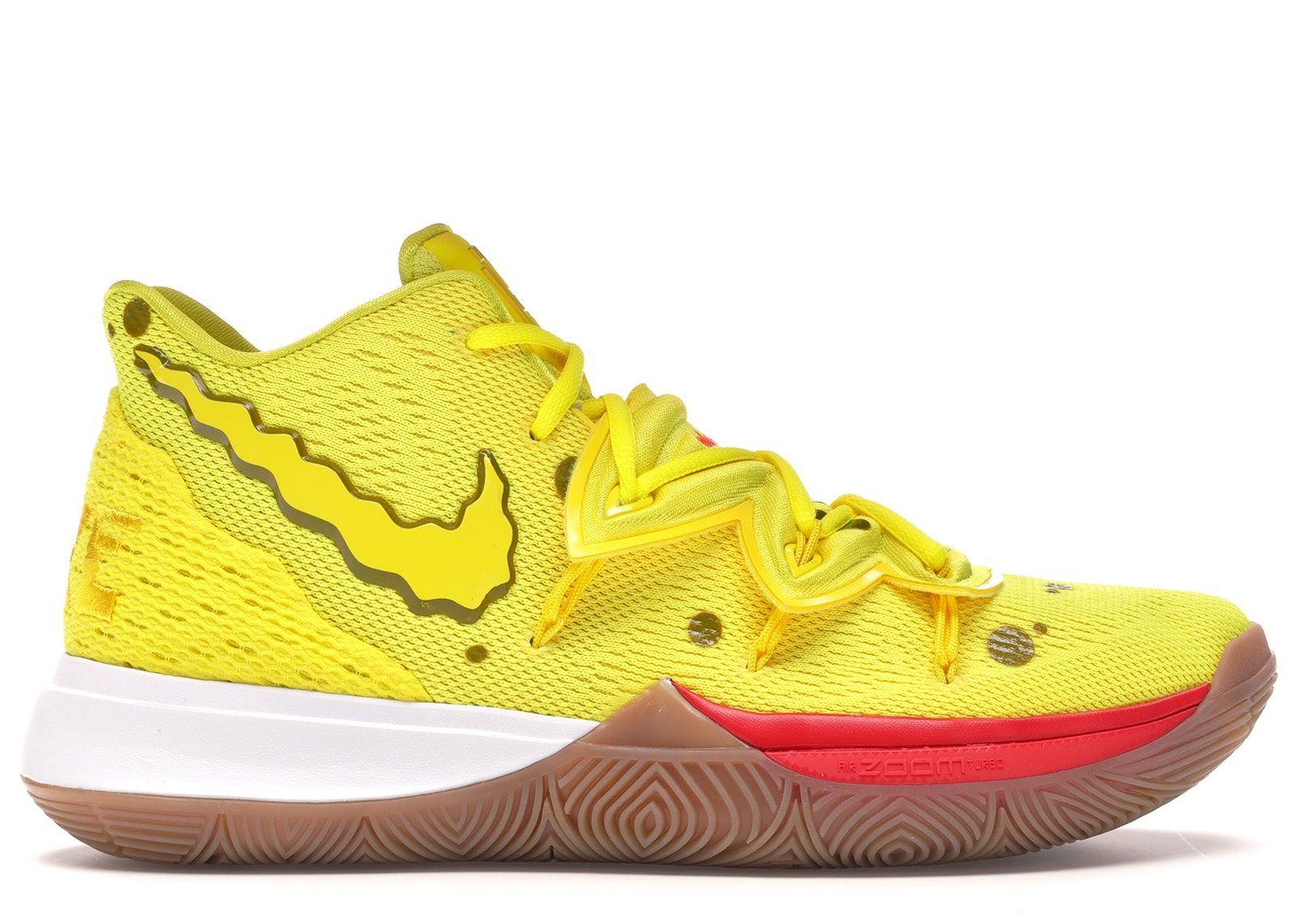Nike Kyrie 5 Spongebob Squarepants   Nike kyrie, Nike, Kyrie ...