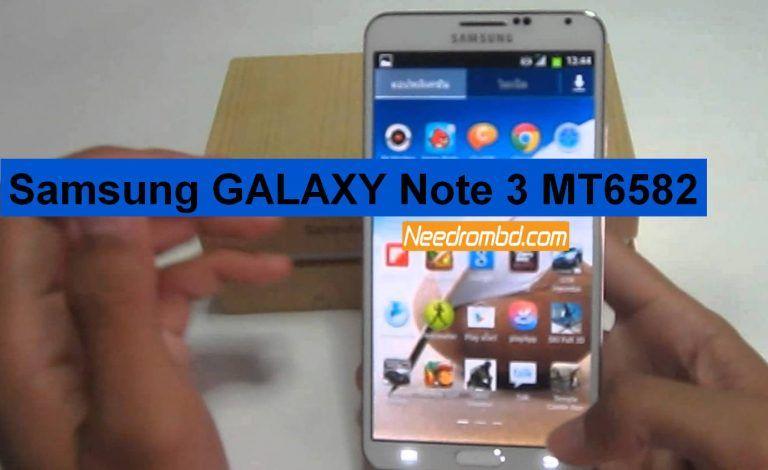Samsung GALAXY Note 3 MT6582 Firmware | Smartphone Firmware | Galaxy