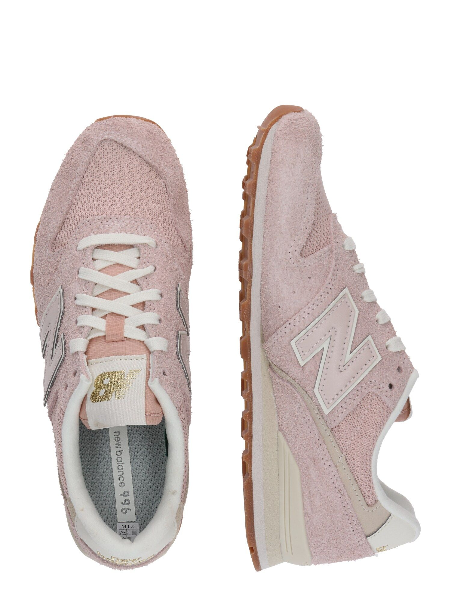 New Balance Sneaker 'WL996 B' Damen, Rosa / Beige, Größe 39 ...