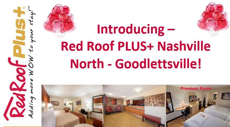 Cheap Hotels in Goodlettsville, TN Red Roof PLUS+ Red