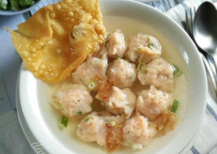 Resep Bakso Udang Cuanki Udang Pr Olahanudang Oleh Dapurvy Resep Makanan Dan Minuman Resep Masakan Asia Resep