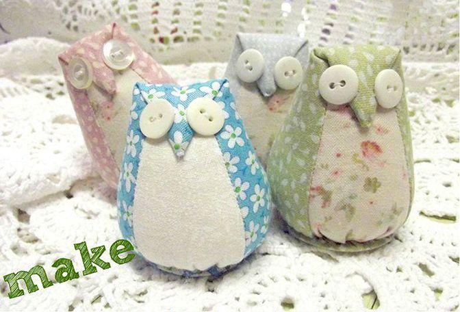 Owl Crafts: 8 Free Patterns and Tutorials | Free Tutorials I Like ...