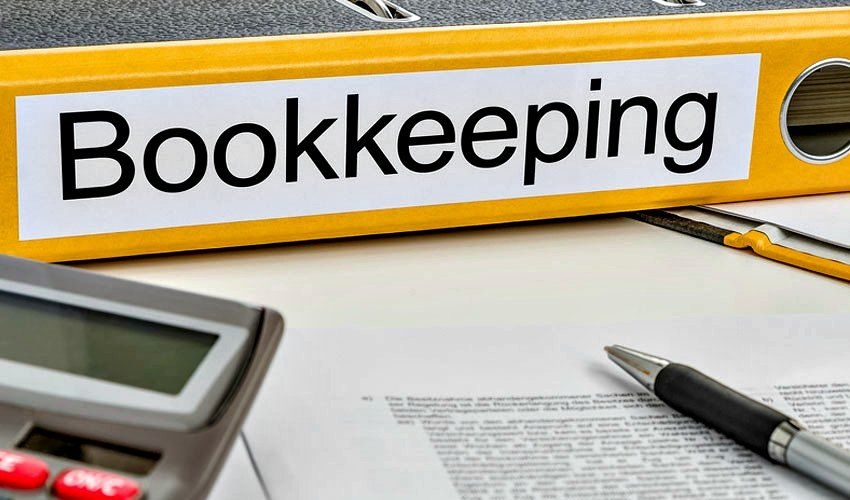 Bookkeeping involves the recording of financial