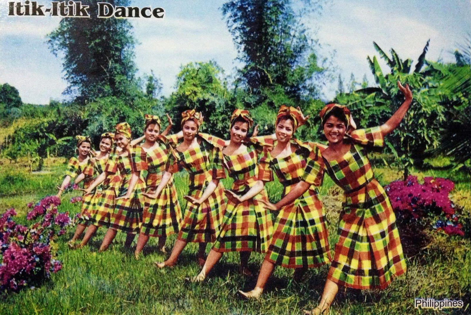 Philippine Dance & Festival Postcards Cultural dance