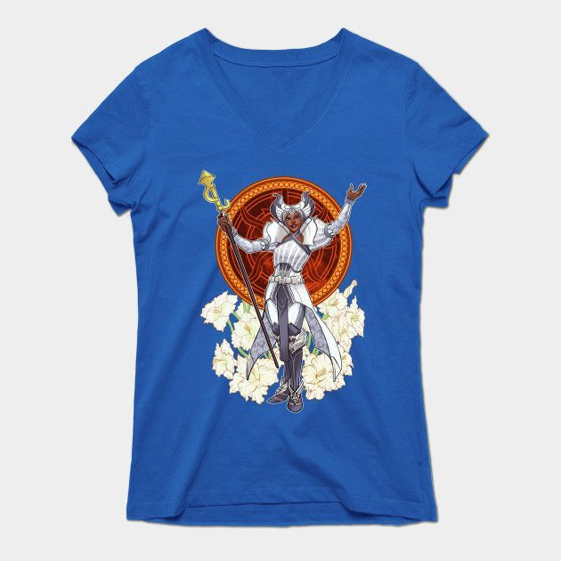 Decorative Heroes: The Ambition Womens V-Neck T-Shirt