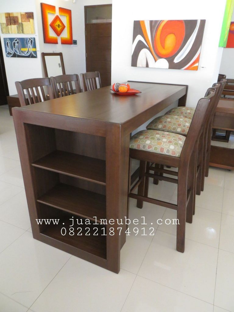 Model Set Kursi Makan Cafe Resto Minimalis With Images Home