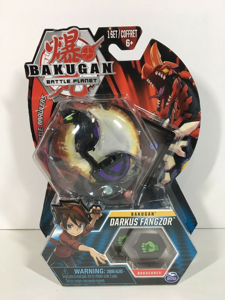BAKUGAN Core 1 Pack DARKUS fangzor NUOVO