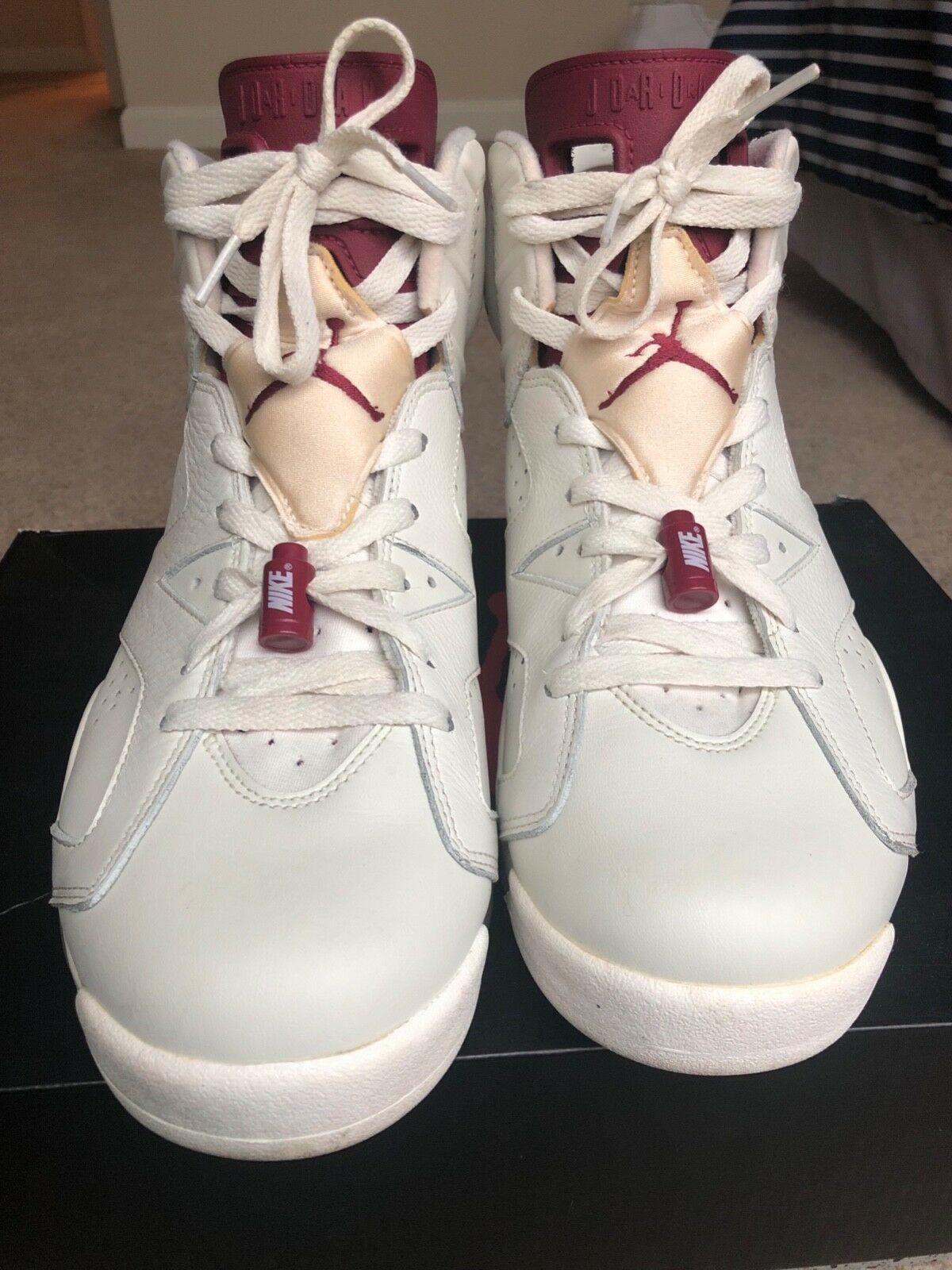 info for 9d5dd 2d5cf Nike Air Jordan 6 VI Retro Maroon Men s Size 10 2015