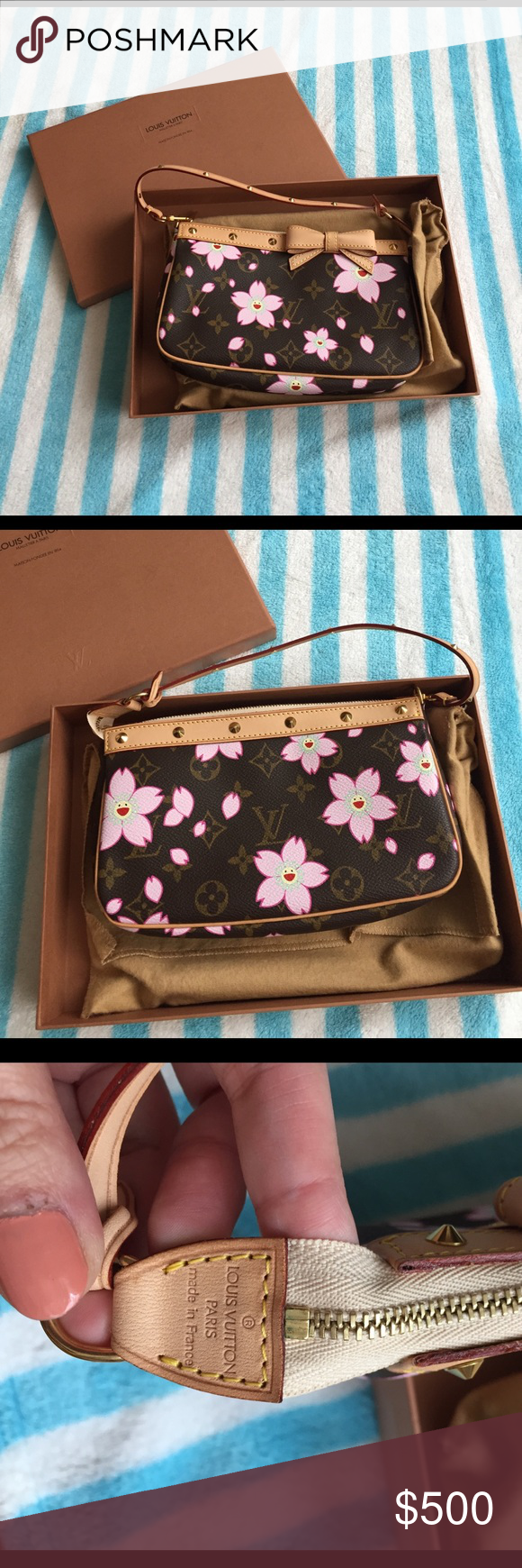 Louis Vuitton cherry blossom limited edition New. Made in France, with original packaging. Louis Vuitton Bags Mini Bags
