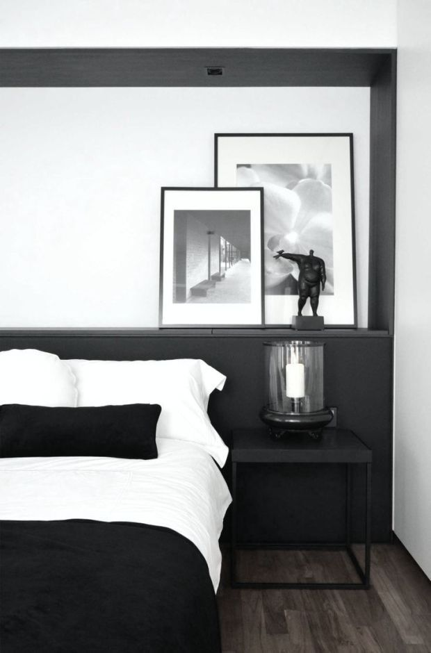 50 Perfectly Minimal And Inspiring Bedrooms Deco Chambre Noir Et