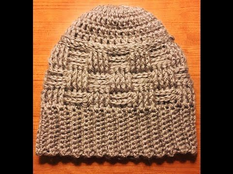 Cómo tejer Gorros punto cesta / Tutoriales DIY | Crochet y Dos ...