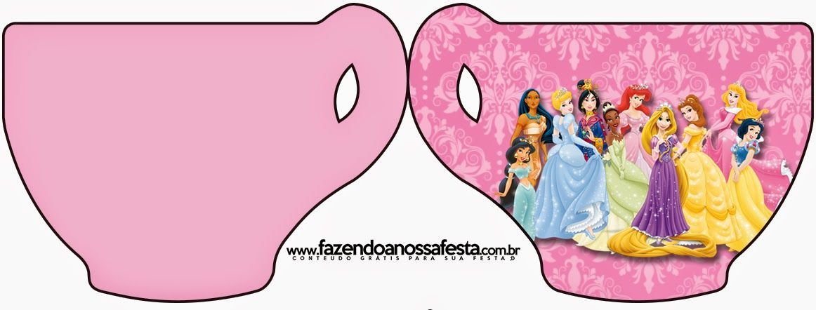 Disney Princess: Free Printable Party Invitations. | princess ...