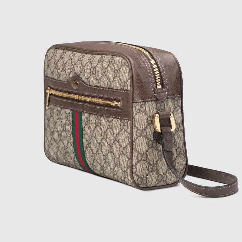 bc9fc5b1beb9 Gucci Ophidia GG Supreme small shoulder bag Detail 2