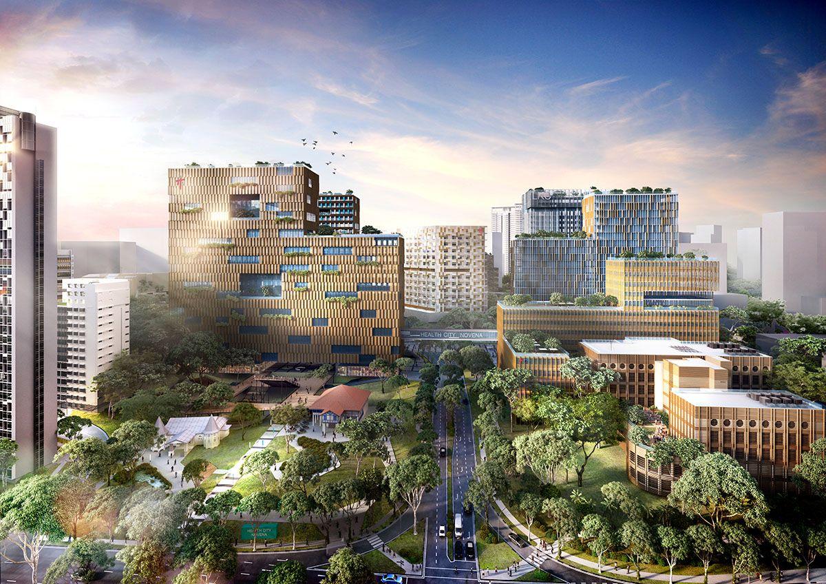 Novena Health City, Singapore REDVERTEX Hotel