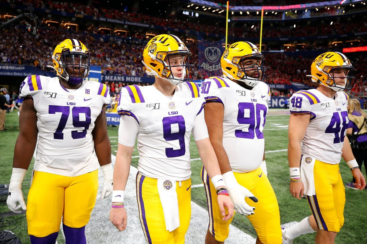Lsu Used Joe Burrow On The Field And Big Data In The Weight Room To Return To College Football S Biggest Stage Lsu Football Lsu Football