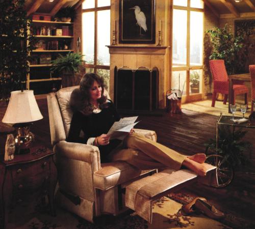 Living Room Decor, 1980s