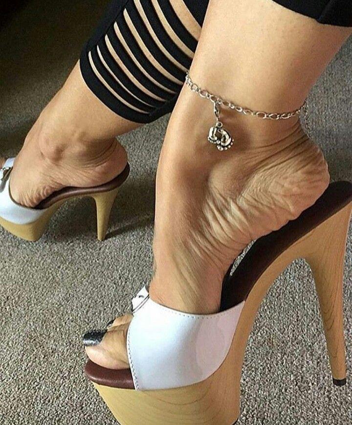 Pin by Silvano on wooden heels | Heels, High heel sandals