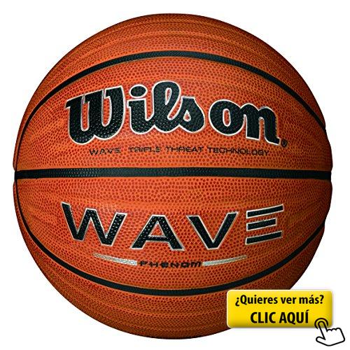 Pelota Wilson Wave Phenom Talla 7 Color Naranja