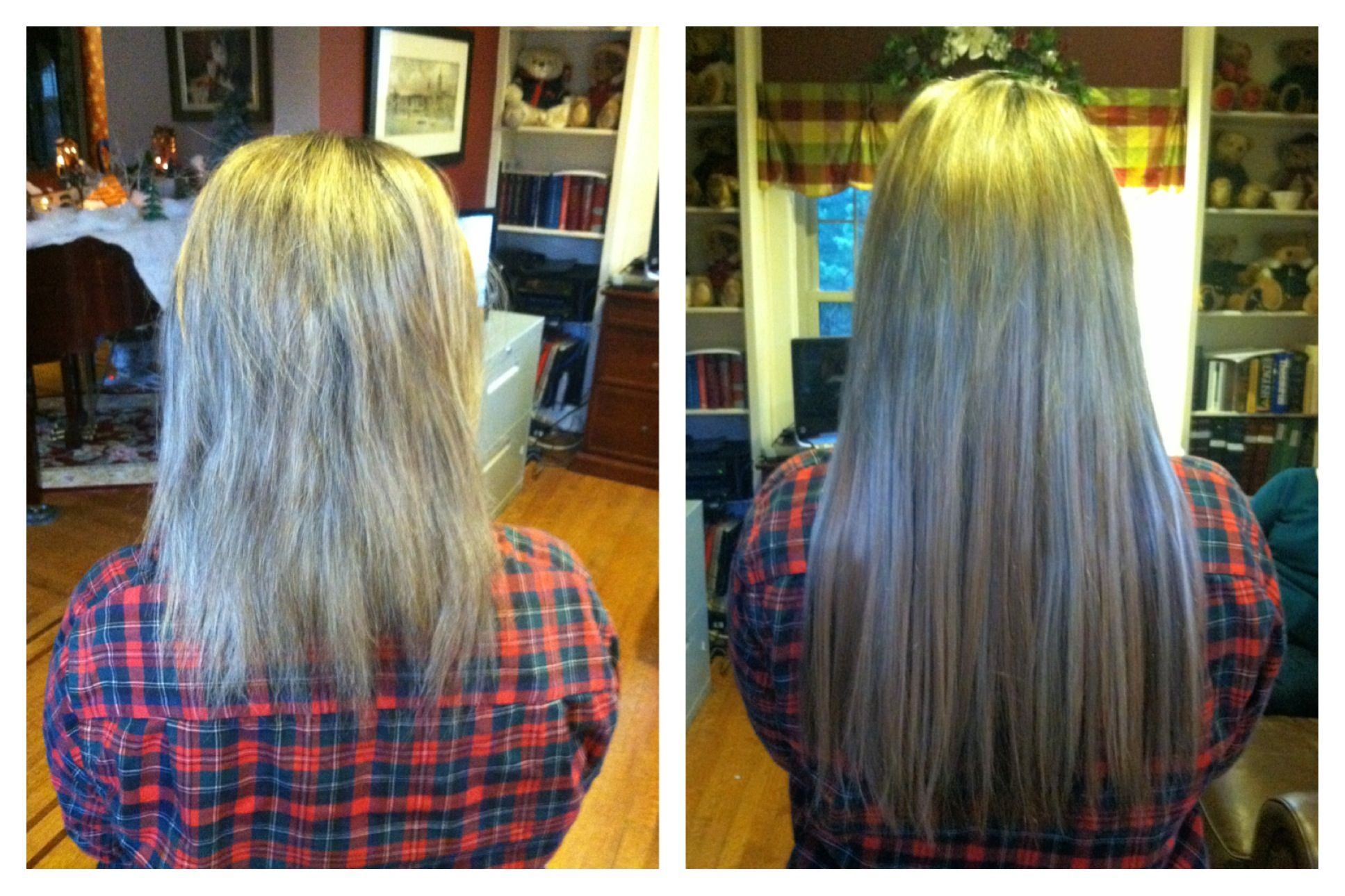 Fabulous Makeover Using Microbeads And 18 Remy Human Hair