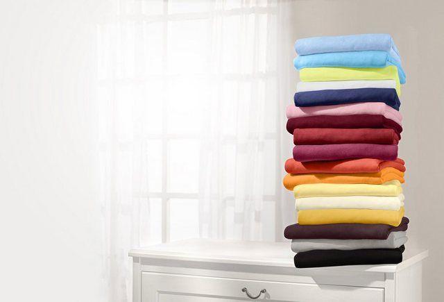 Formesse Spannbetttuch Made in Germany, Maschinenwaschbar und trocknergeeignet online kaufen | OTTO