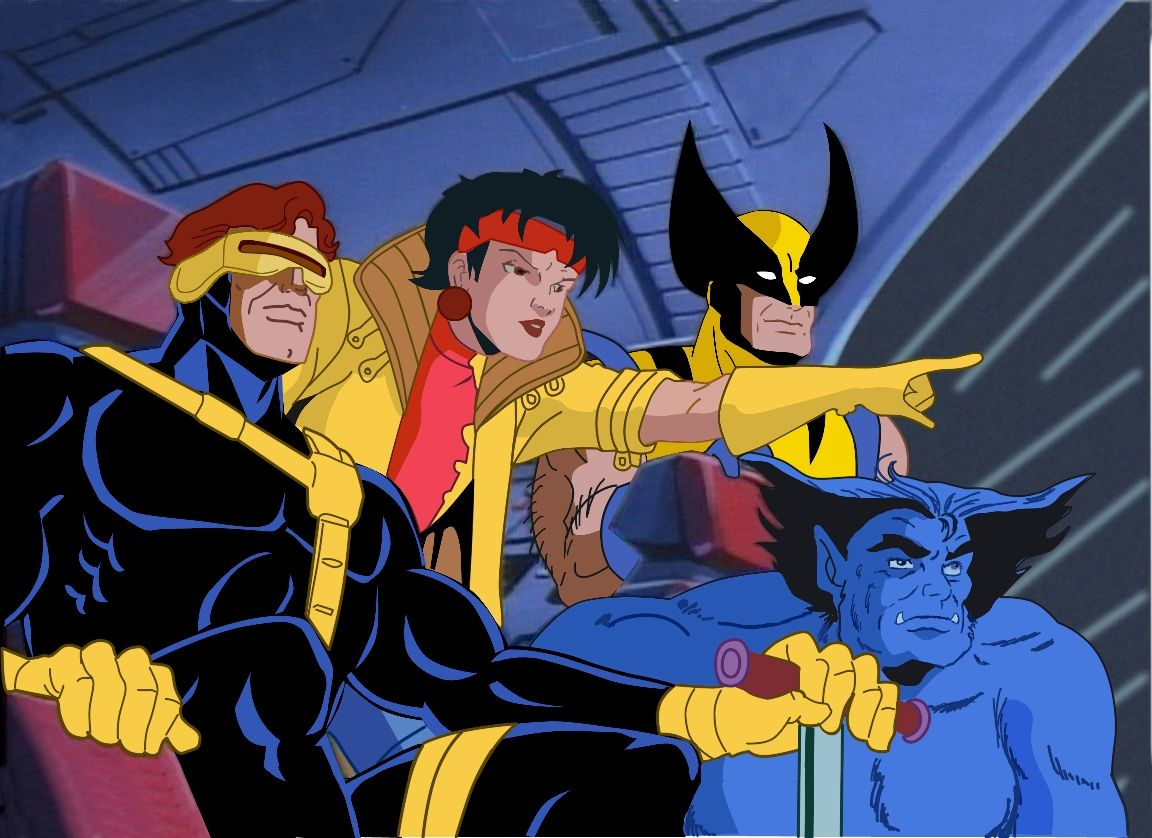 90s X Men Vibes Art By By Amelia Vidal Sailorameli Wolverine Professorx Cyclops Jeangrey Storm Be Wolverine Art Wolverine Marvel Wolverine Comic