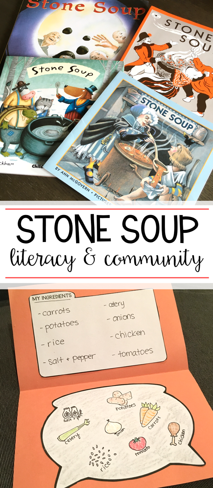 Stone Soup: A Literacy and Community Unit | Stone soup, Literacy and ...