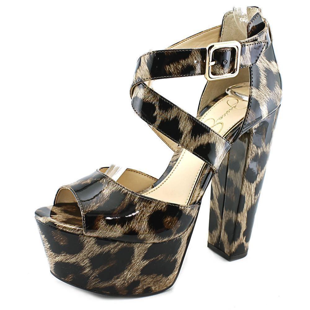 Jessica Simpson Women's Derian Patent-leather Dress Shoes