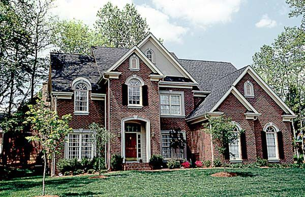 Elevation of Traditional   House Plan 97037