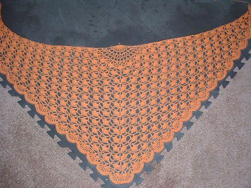 Morpho Shawlette, free pattern by Cheri McEwen. Fingering weight ...