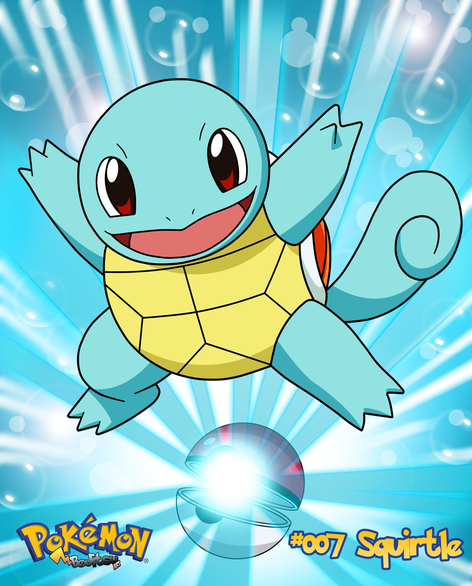 squirtle used to be the leader of a gang known as the squirtle