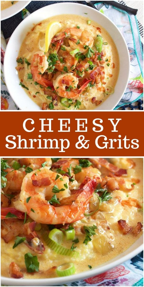 Photo of Cheesy Shrimp and Grits