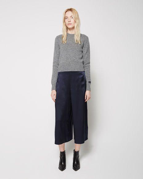 Tonal Dressing: A Break In Tradition Acne Studios | Mala Satin Pant | La Garçonne