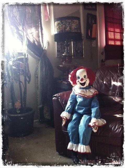 Creepy Clown With Images Creepy Clown