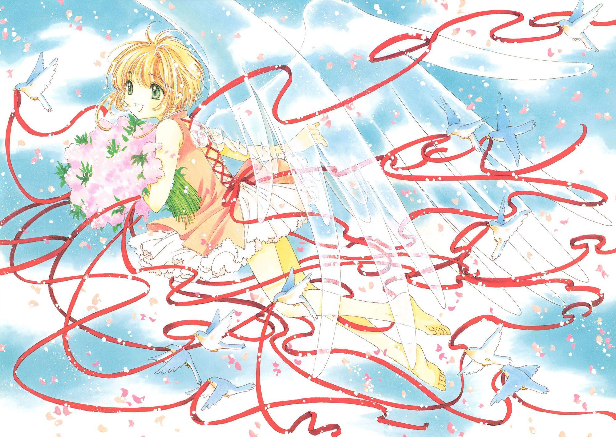 Sakura Kinomoto Manga 4k Cardcaptor Sakura Anime Wallpaper Anime