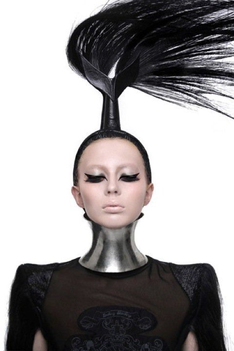 Futuristic Fashion | futuristic-fashion-futuristic hair