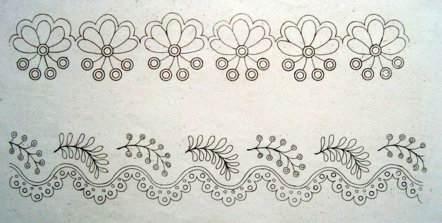 18th & 19th Century Whitework Embroidery | Bordado, Tul y Patrones