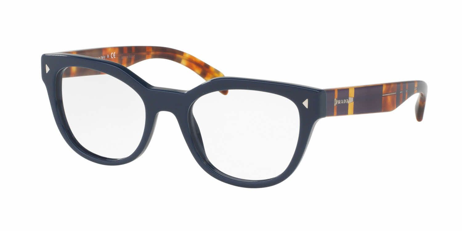 e188458f9d6f The striped detail and chic embellishments on these eyeglasses is  everything! Prada PR 21SV Eyeglasses