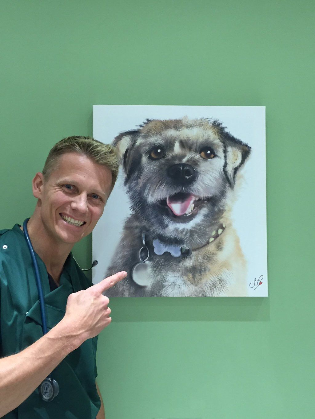 Dr Scott Miller From More4 Documentary Vet On The Hill With Our