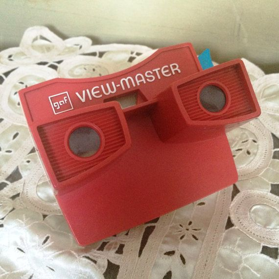 reserved!! View Master, 1970 Gaf View Master, Red Vintage View Master, Vintage Toys, Poppies House, Vintage Toys, Vintage Collector Toys