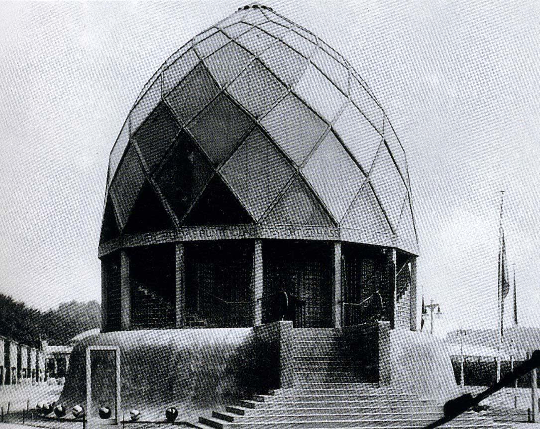 the glass pavilion temporary cologne deutscher werkbund