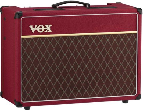 Vox-AC15 in Red