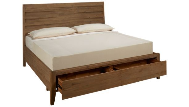 Casana Casablanca Casana Casablanca King Storage Panel Bed Bed