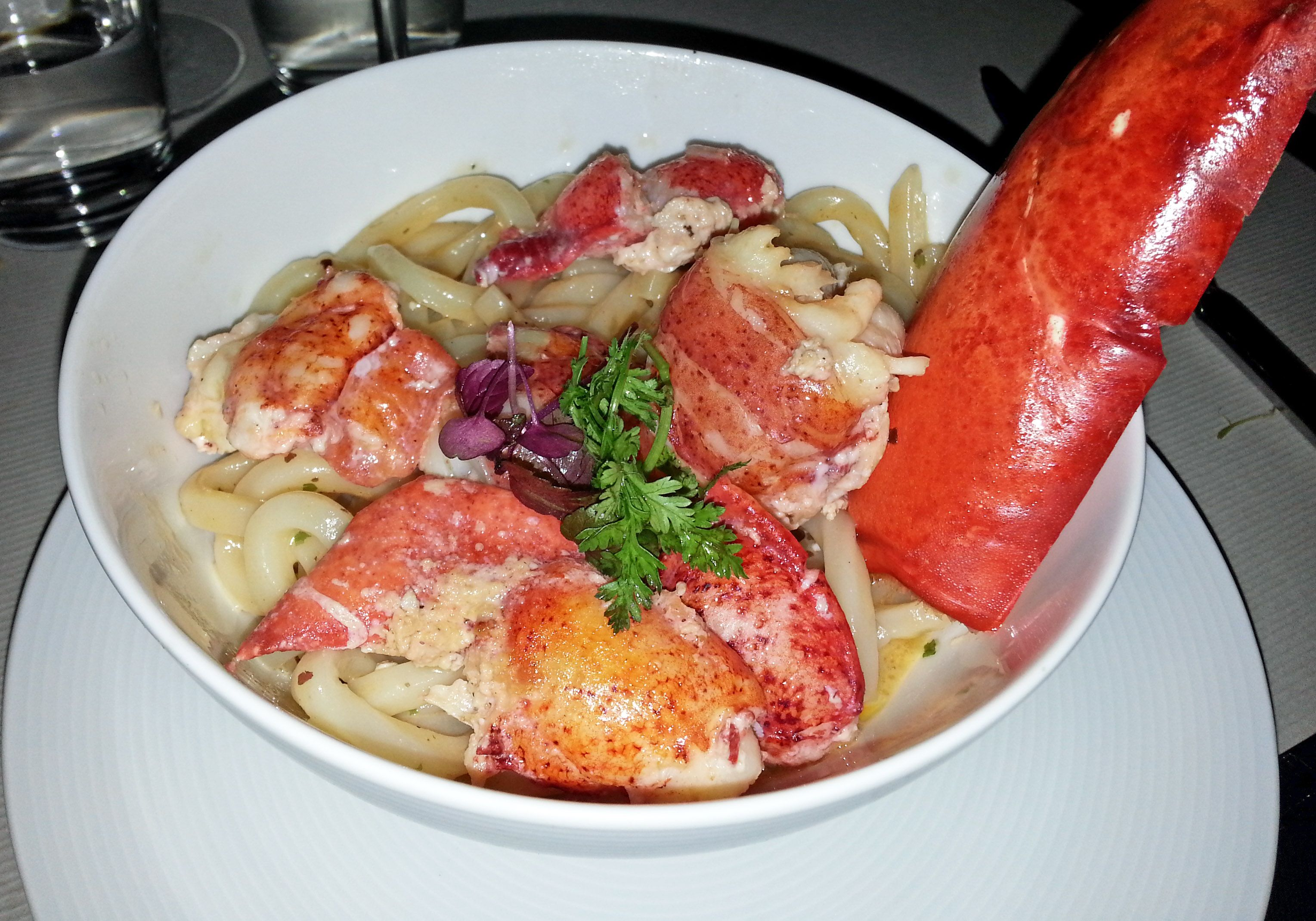 Udon Lobster Perfect Combination Udon Lobster Food Foodme Kong