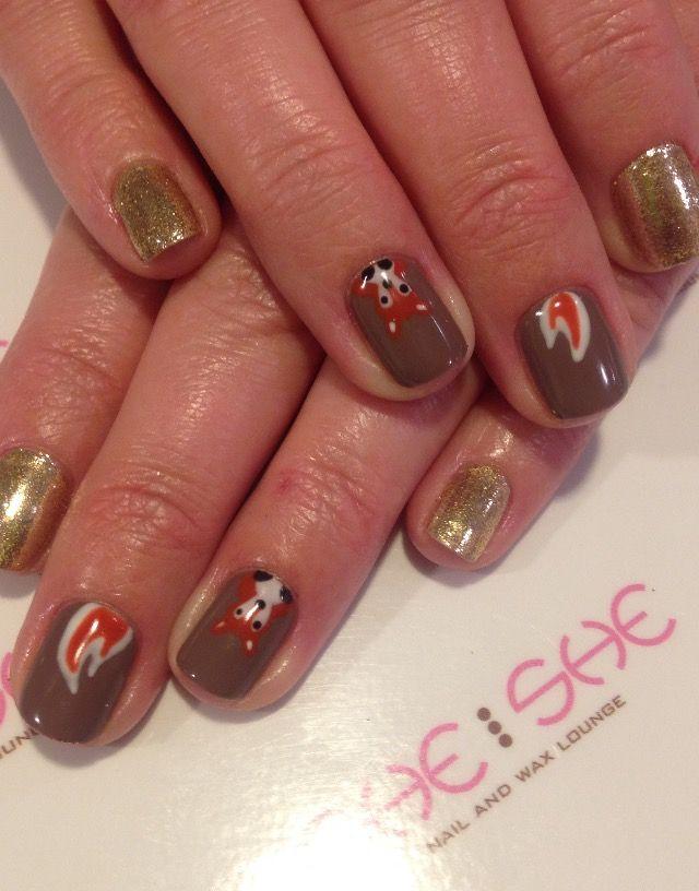 Fox nail art | Fancy Nails | Pinterest | Fox nails